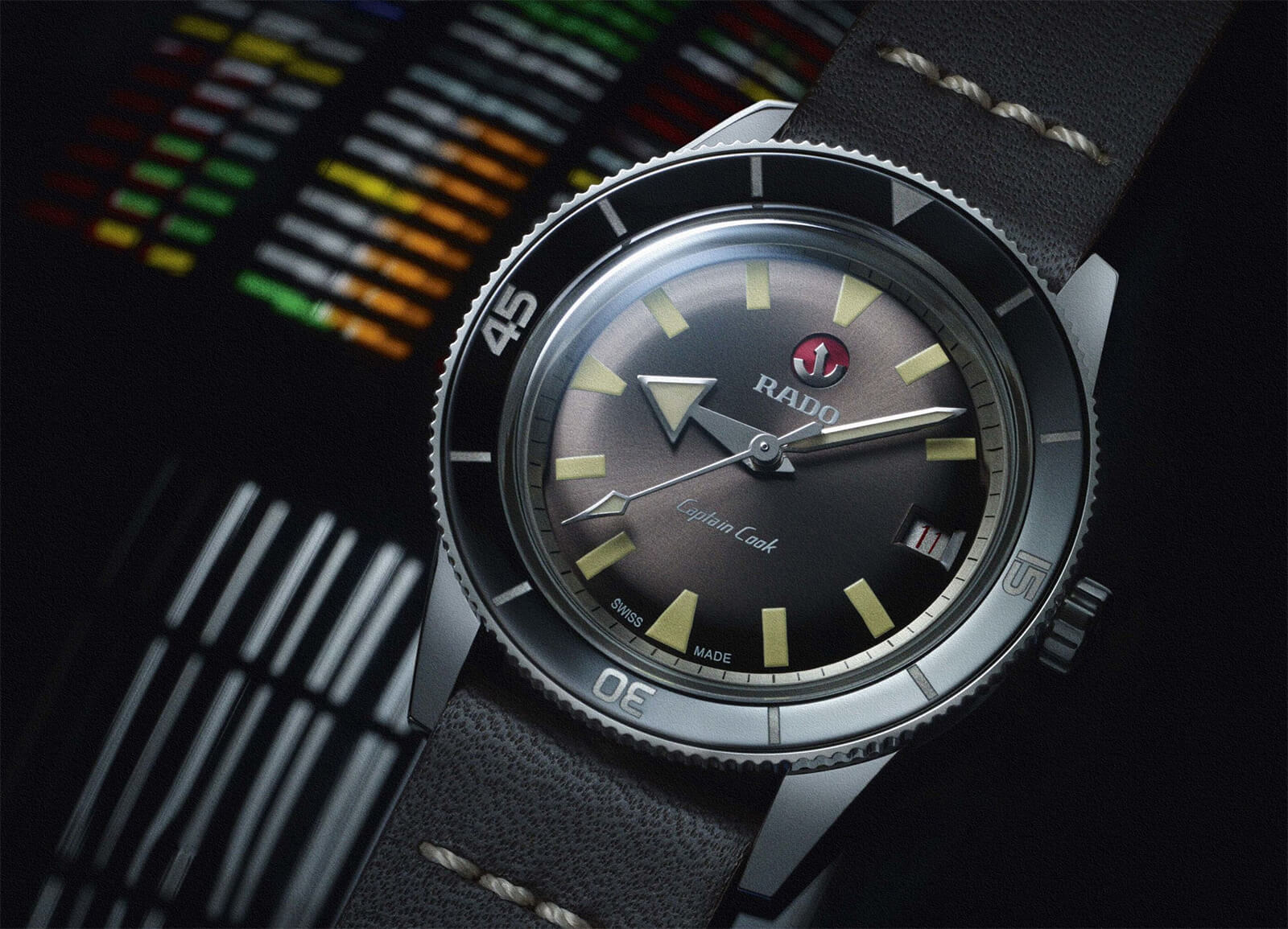 Rado HyperChrome Captain Cook Watch