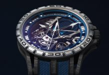 Roger Dubuis Excalibur Spider 45 Bucherer Blue Edition Watch