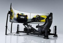 McLaren Ultimate Series Simulator