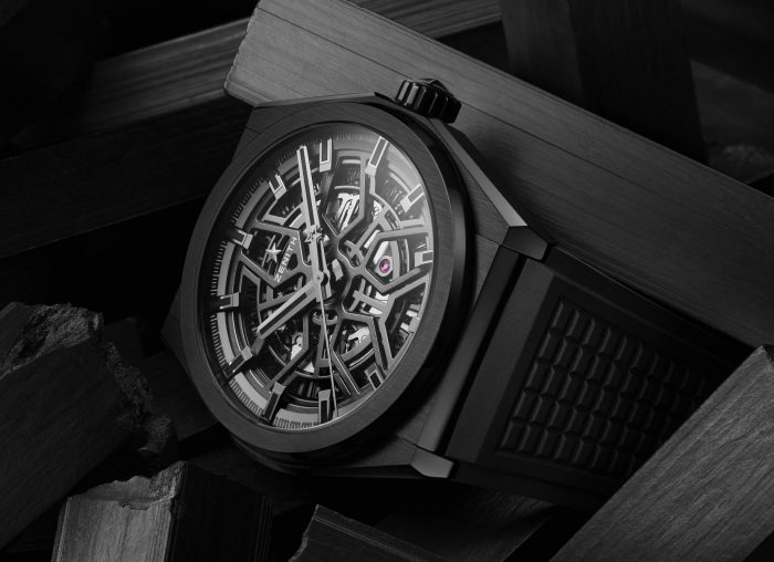 Zenith Defy Classic Black Ceramic Watch