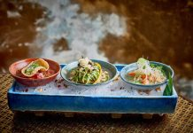 Ceviche at Coya Restaurant
