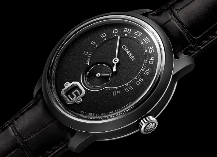 Chanel Monsieur Édition Noire Black Ceramic Watch