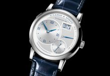"A. Lange & Söhne Lange 1""25th Anniversary"" edition in white gold"