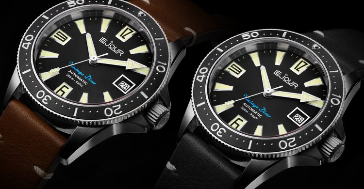 Le Jour Vintage Diver Collection