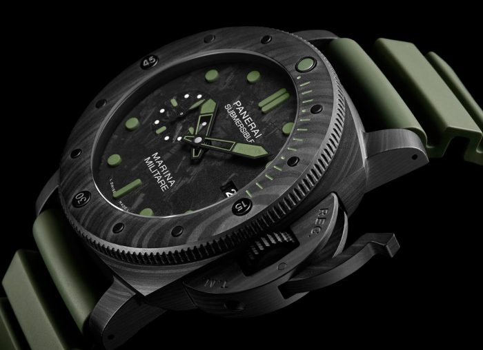 Panerai Submersible Marina Militare Carbotech PAM00979 47mm