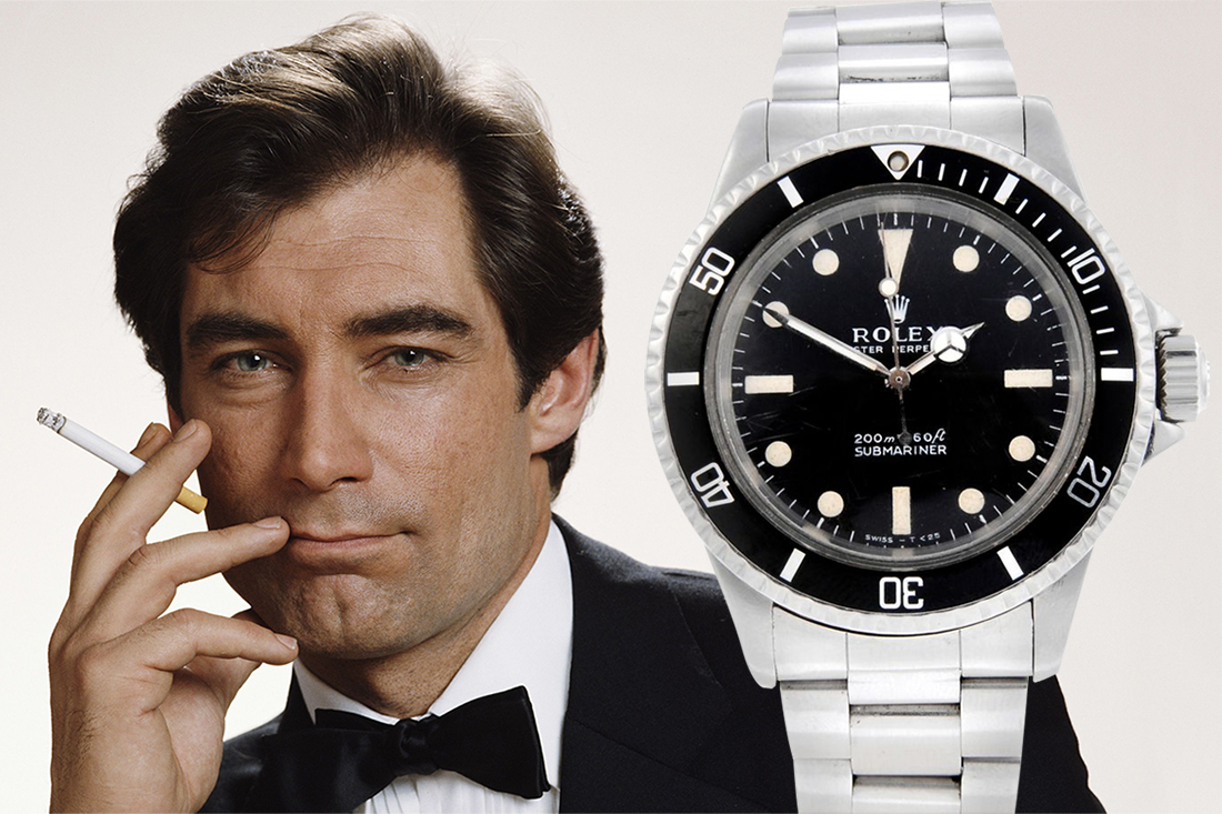 Timothy Dalton Rolex Submariner
