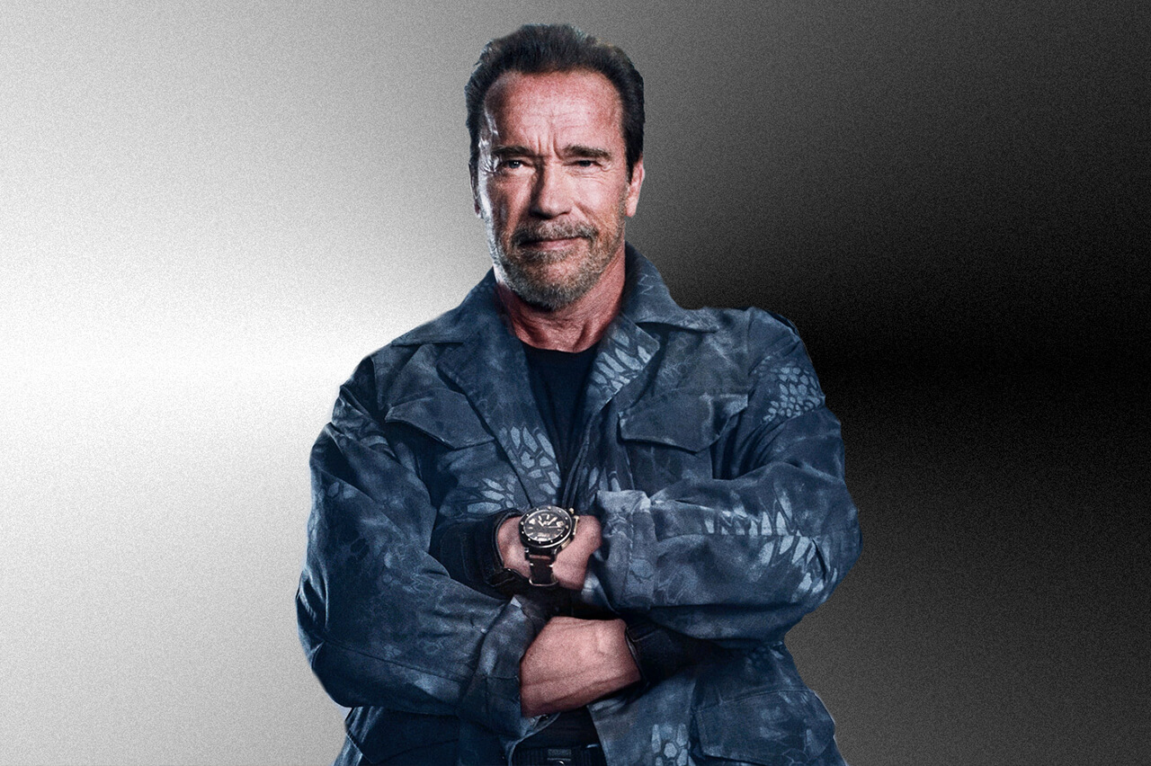 Arnold Schwarzenegger Arnold-Schwarzenegger The Expendables 4