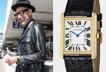 Jeff Goldblum Cartier Tank