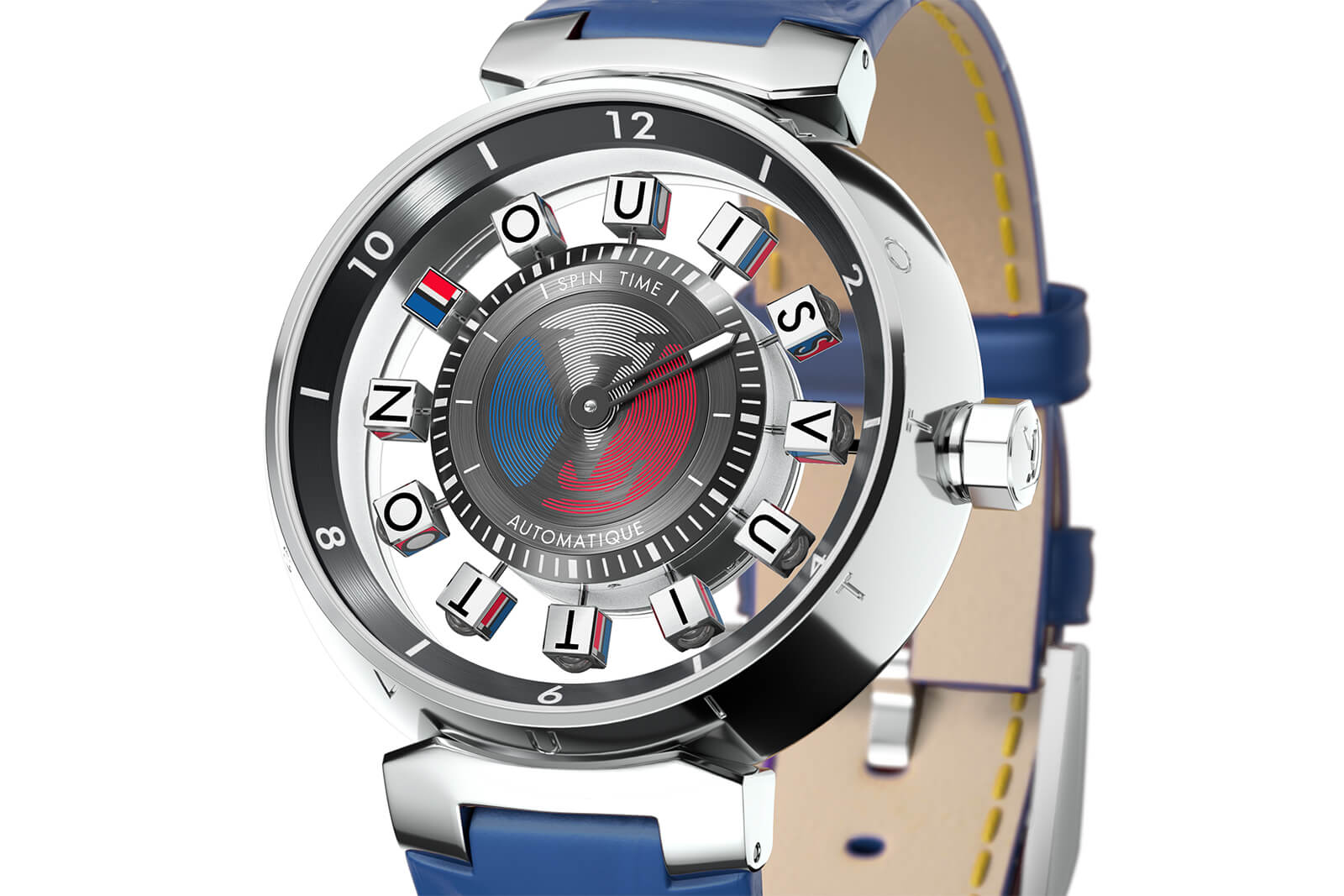 e0d79f17ca5c Louis Vuitton Tambour Spin Time Air Watch - Oracle Time