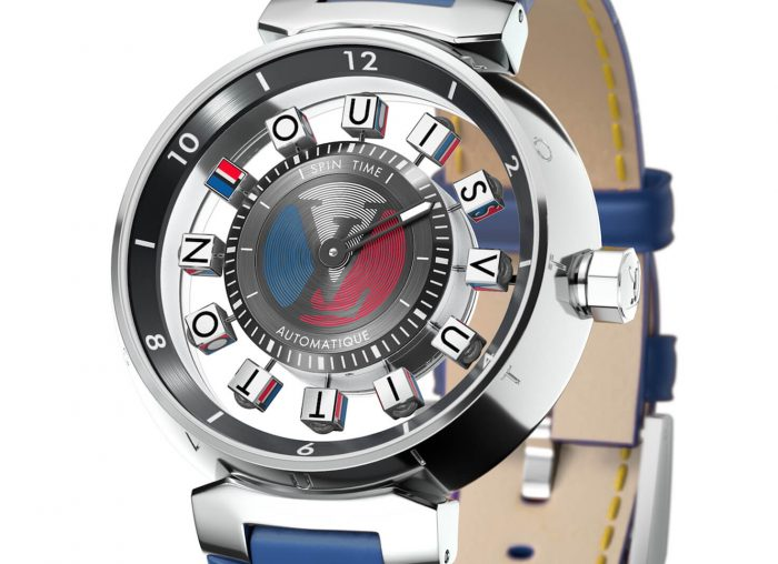Louis Vuitton Tambour Spin Time Air Watch
