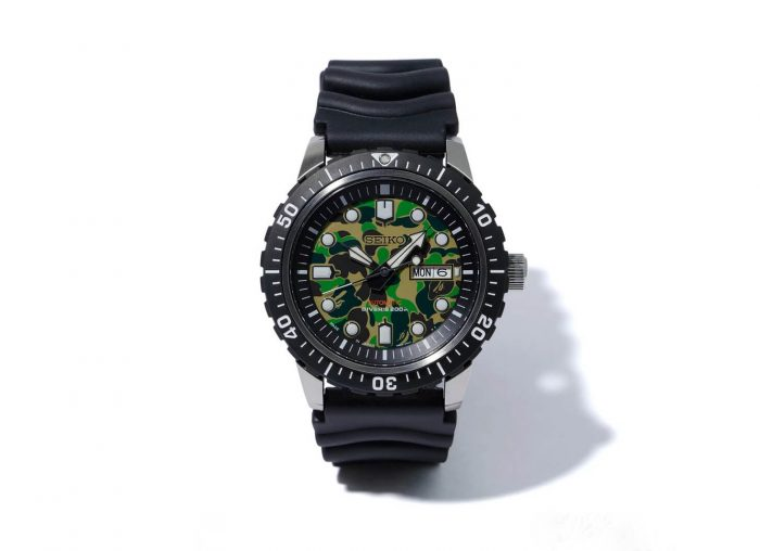 Seiko x BAPE Mechanical Divers