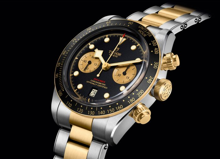 Tudor 2019 Black Bay Chrono S&G
