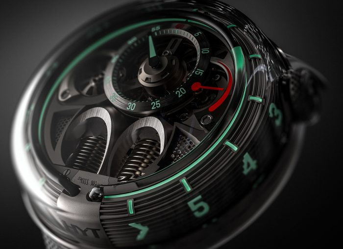 HYT H1.0 Black Fluid Watch