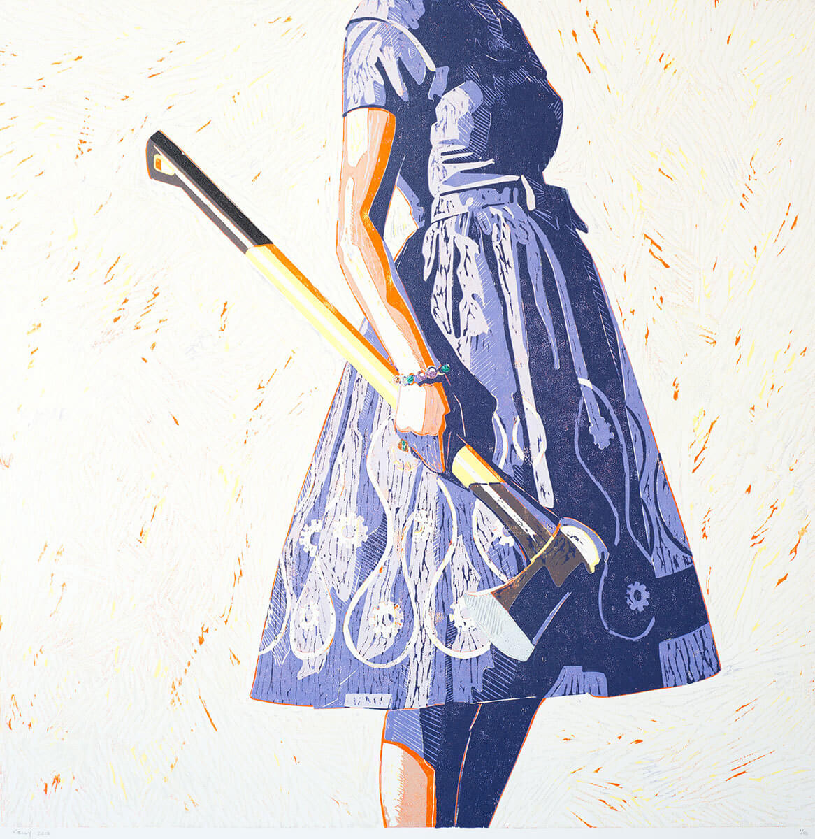 Kelly Remtsen, Splitting Hairs, 2012