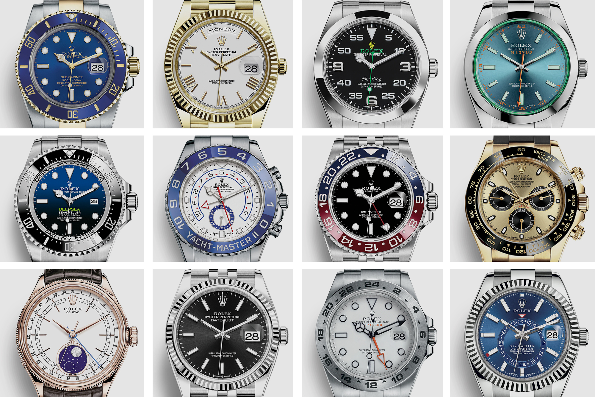 A Beginner's Guide to Every Rolex Model - Oracle Time