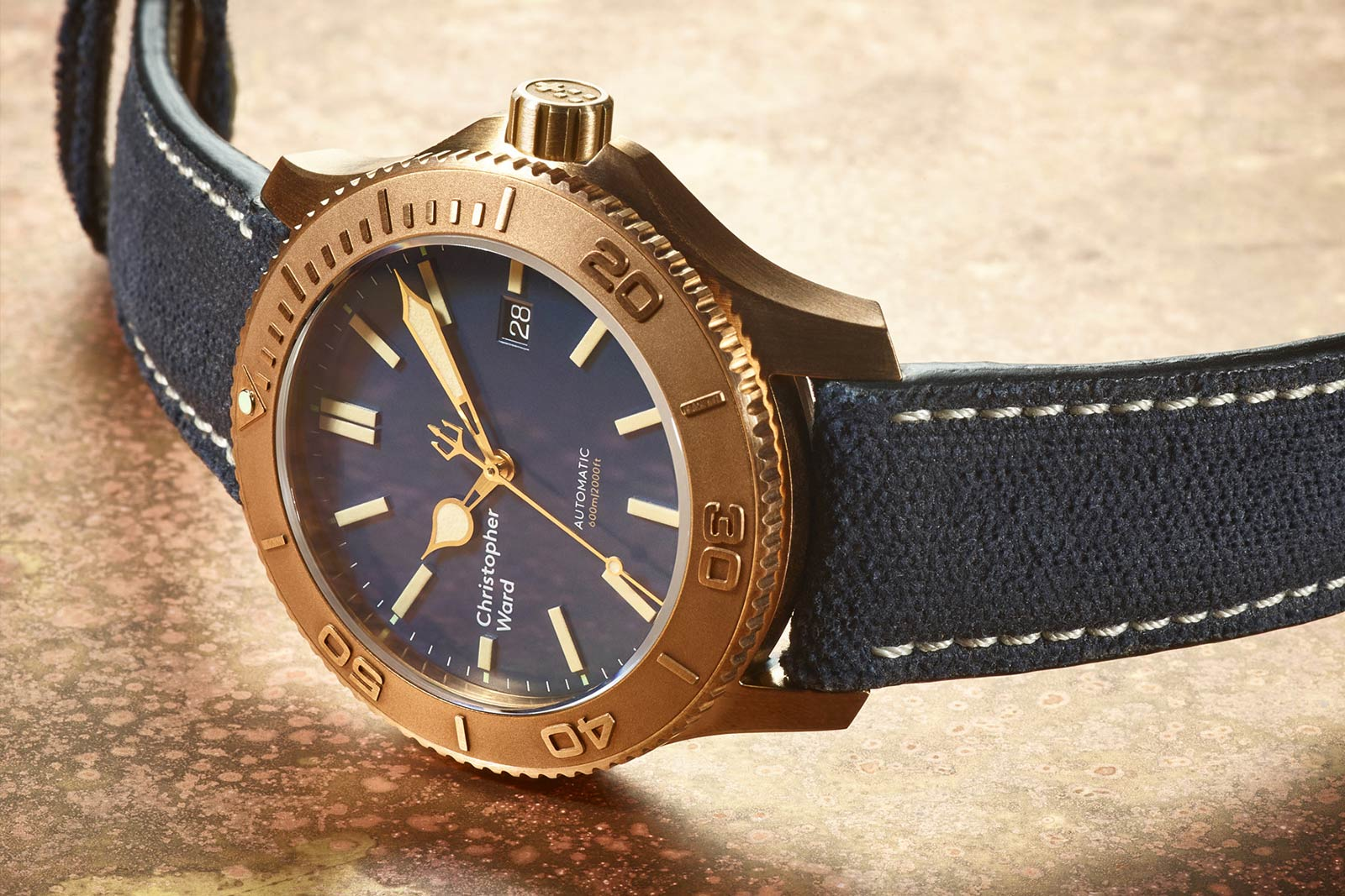 Christopher Ward Trident Bronze