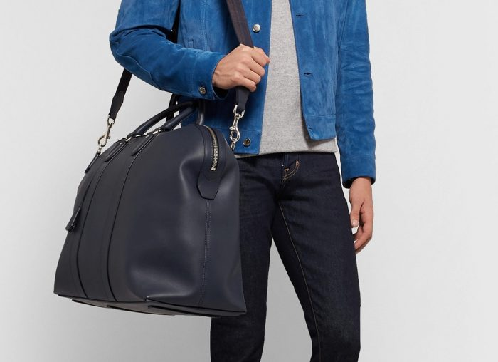 Dunhill Hampstead Leather Holdall
