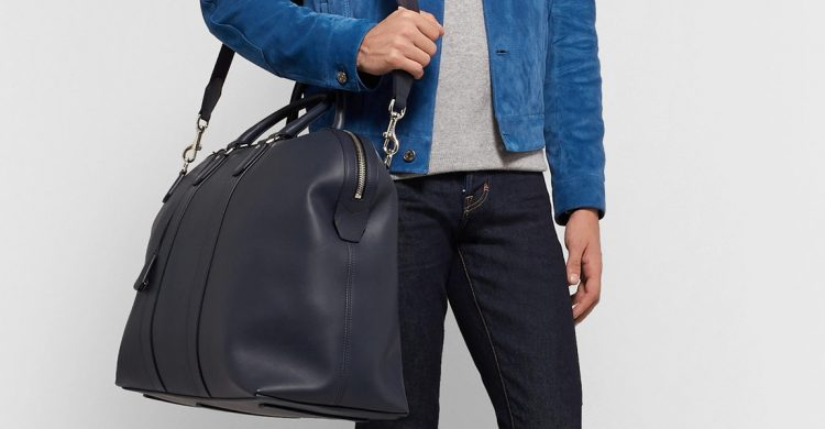 DunhillHampstead Leather Holdall