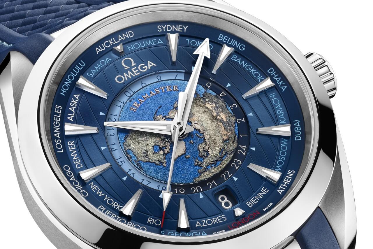 Omega Seamaster Aqua Terra Worldtimer Watch