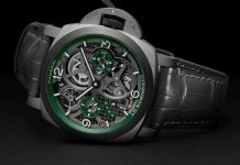 Panerai Lo Scientziato Luminor Tourbillon GMT Watch