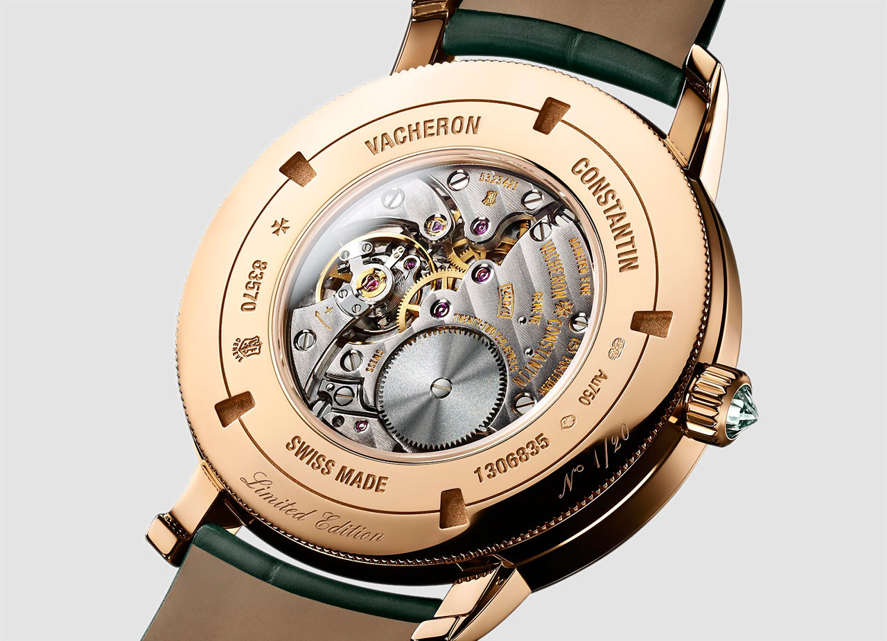 Vacheron Constantin Traditionnelle Harrods Edition - Caseback