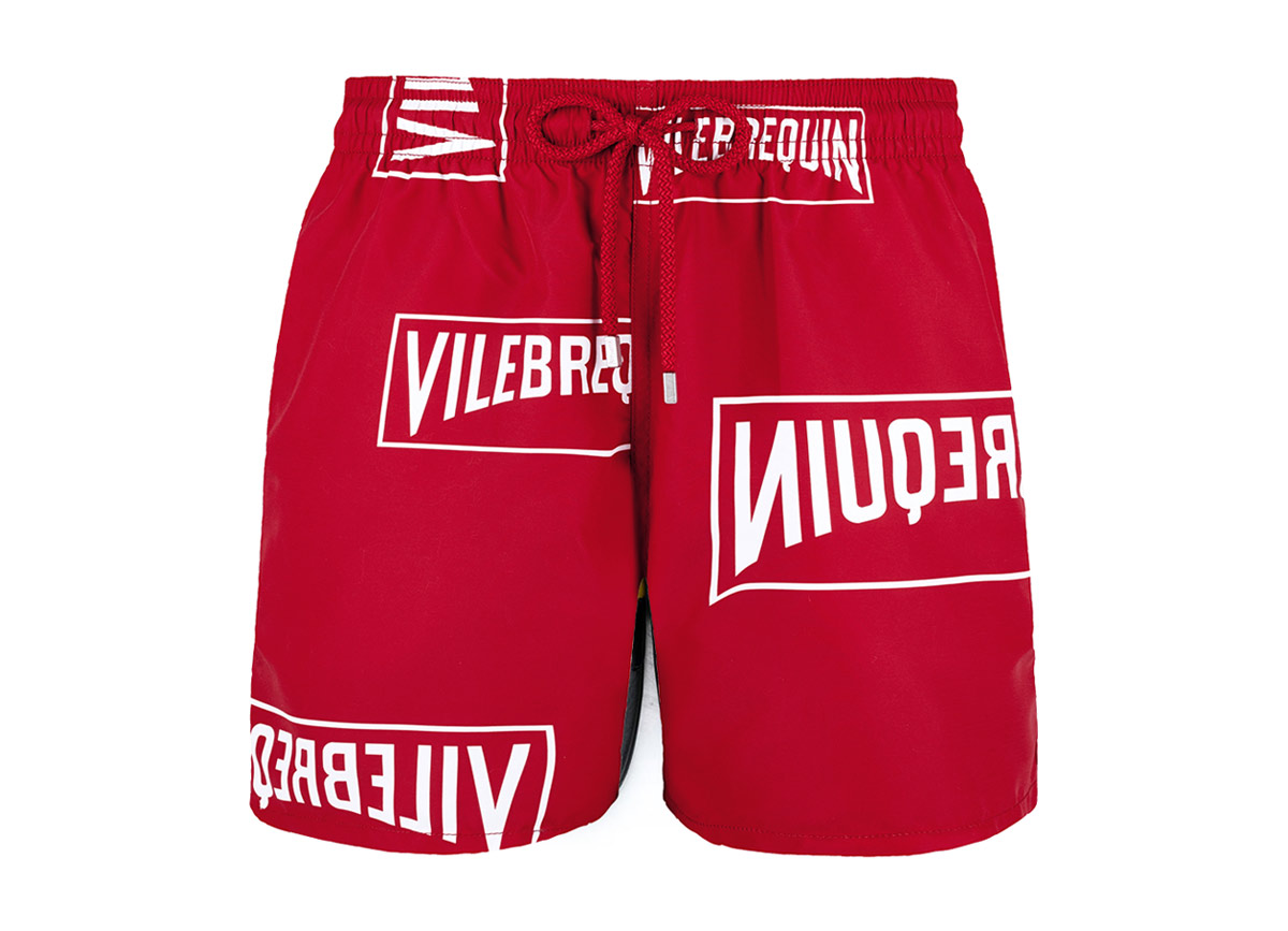 Vilebrequin X (Red) Swim Shorts