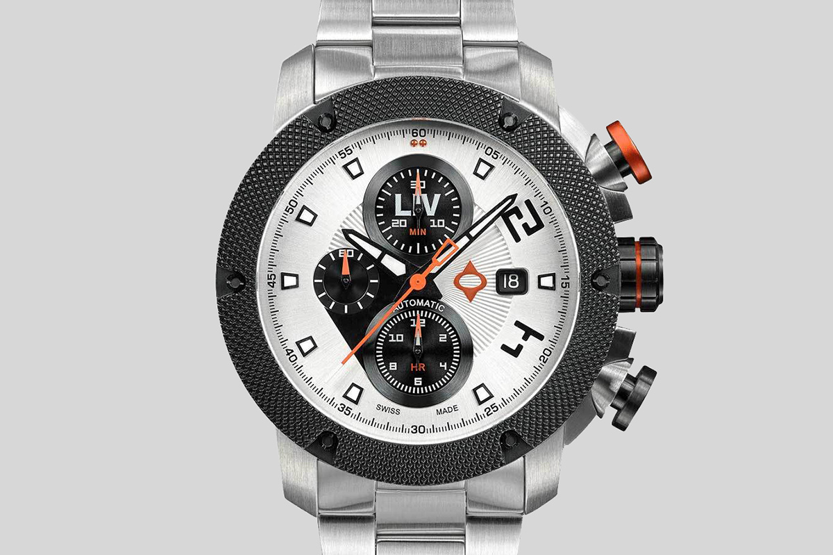 LIV GX-AC Swiss Panda Watch