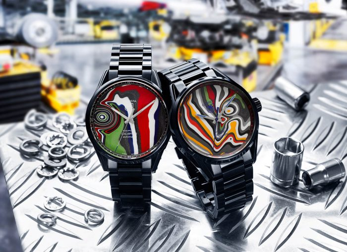 BWD X Black Badger Fordite TAG Heuer Carrera 5