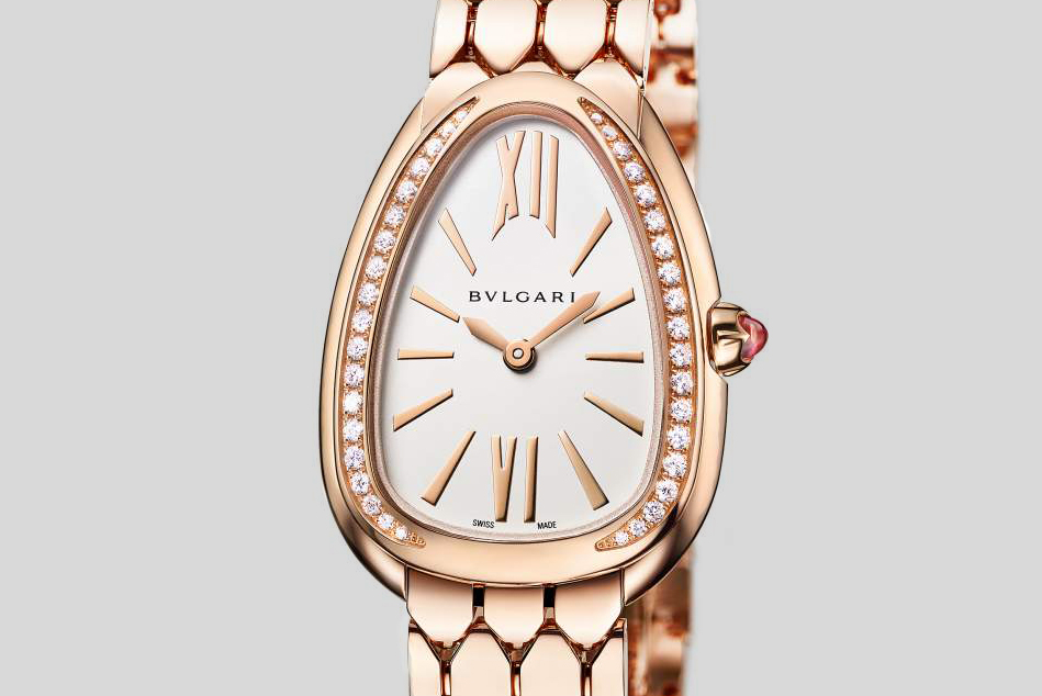Bvlgari Serpenti Seduttori Rose Gold and Diamonds