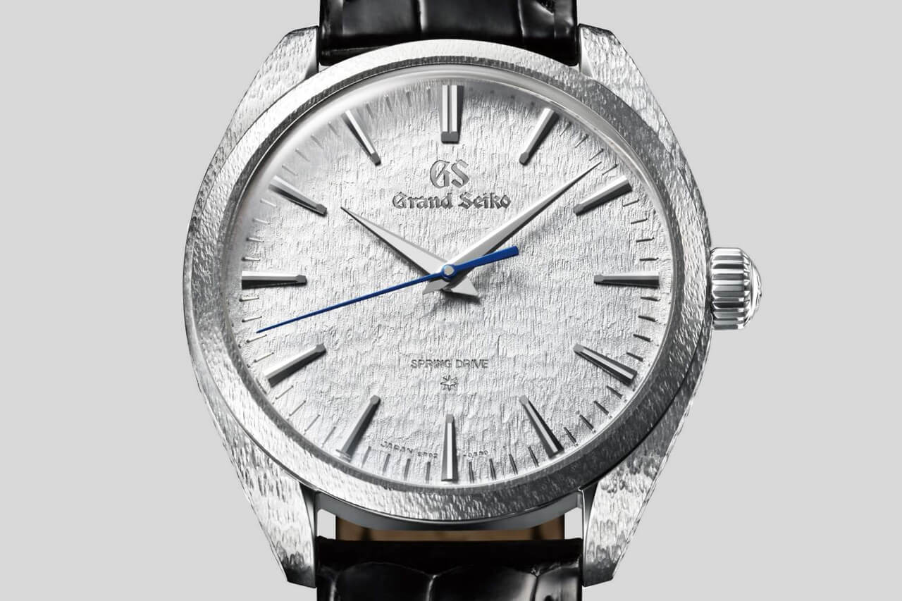 Grand Seiko Spring Drive Platinum Manual Wheel