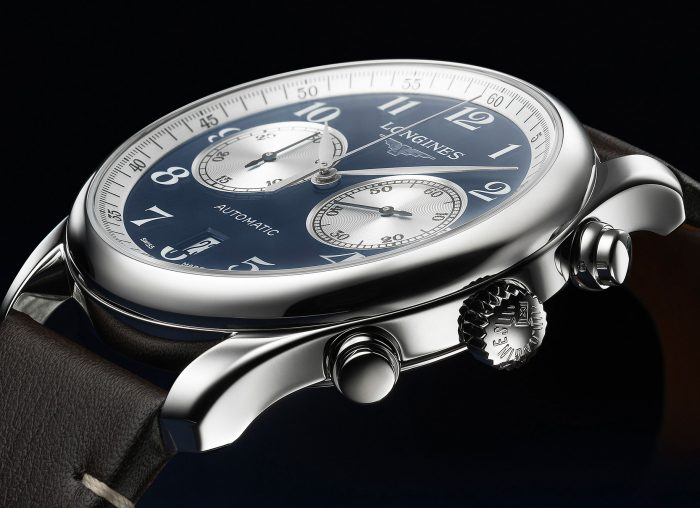 Longines Master Collection Chronograph Bucherer Blue Edition