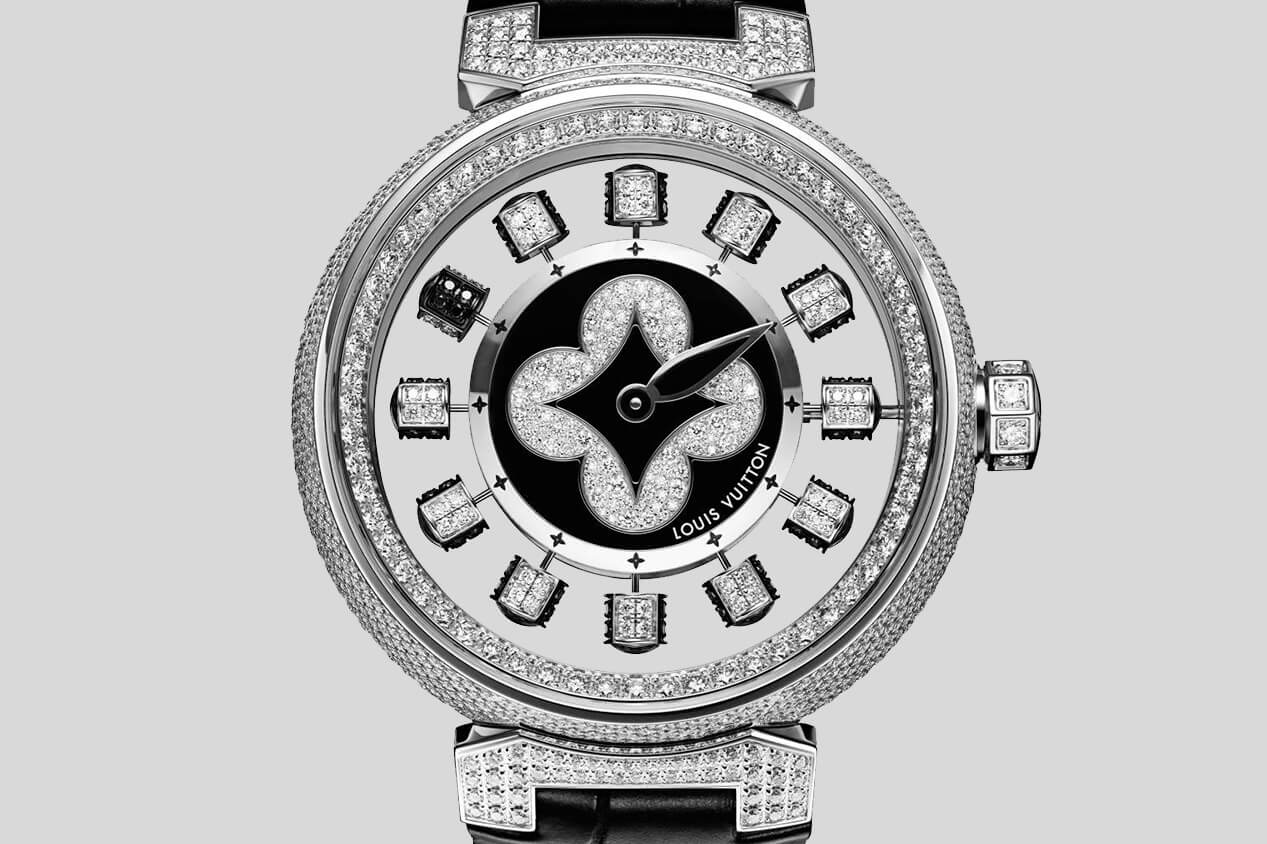 Louis Vuitton Tambour Spin Time Air Paved