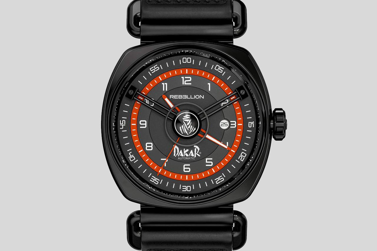 Rebellion Timepieces Twenty-One Three Hands Dakar