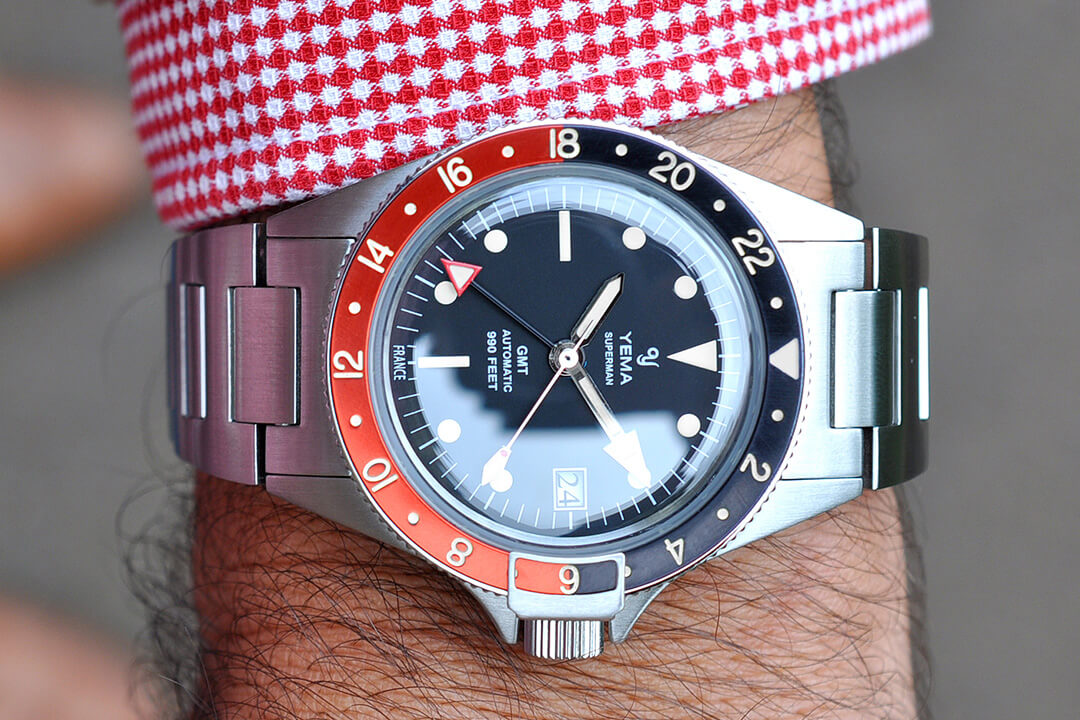 Yema Superman Heritage GMT