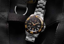 Delma BlueShark III Watch