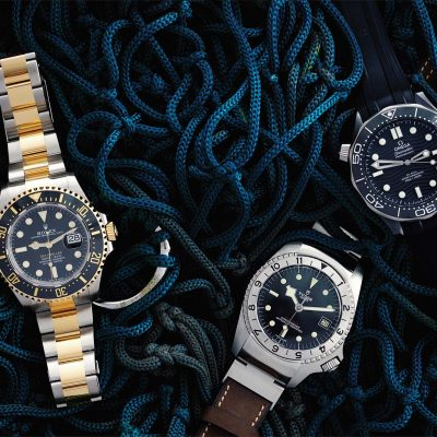 Take The Plunge: Our Nautical Issue Watch Shoot
