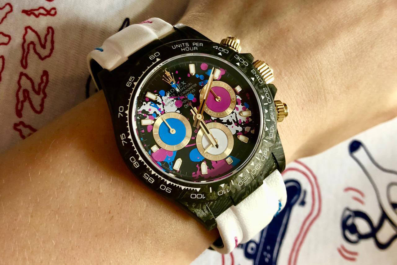 Designa Individual Watch Carbon Daytona Watch