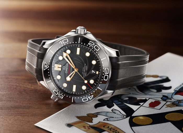 "Omega Seamaster Diver 300M ""On Her Majesty's Secret Service"" 50th Anniversary"
