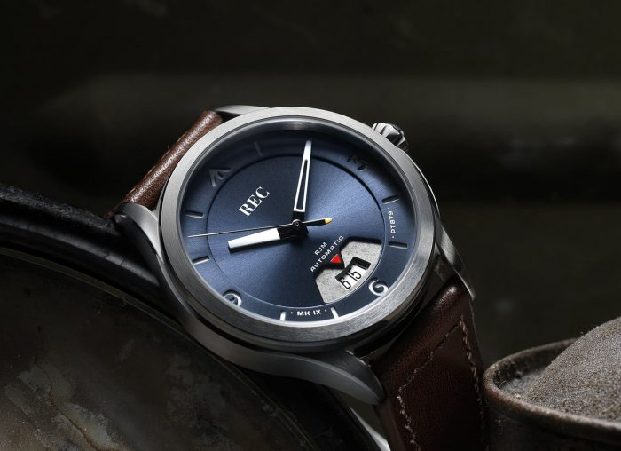 REC Watches RJM 04 Bluebird