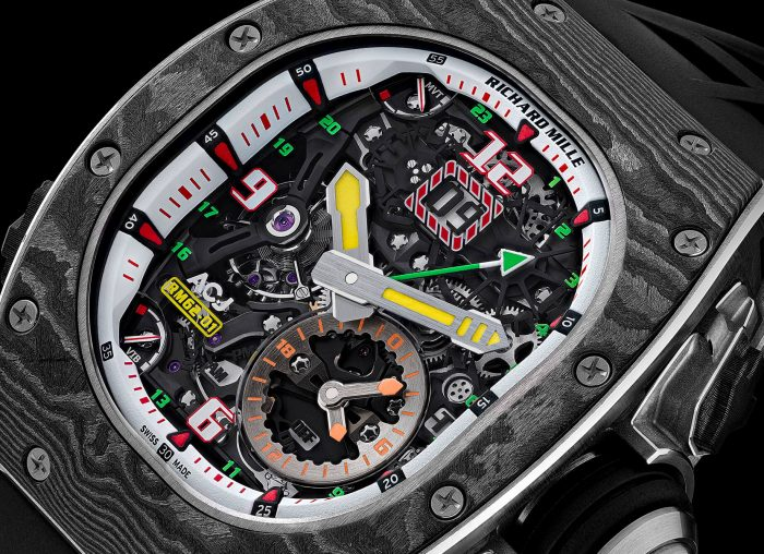 Richard Mille RM 62-01 Vibrating Alarm Tourbillon Airbus Corporate Jets