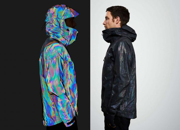 Vollebak Color-Shifting Waterproof Jacket