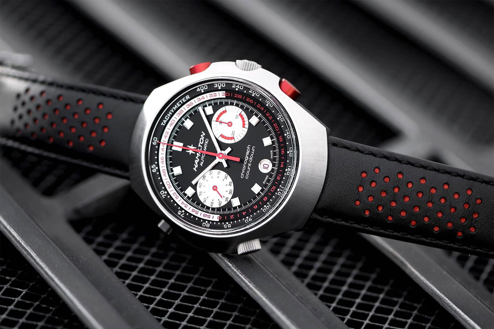 "Hamilton Chrono-Matic 50 Auto Chrono ""Count-Down"""