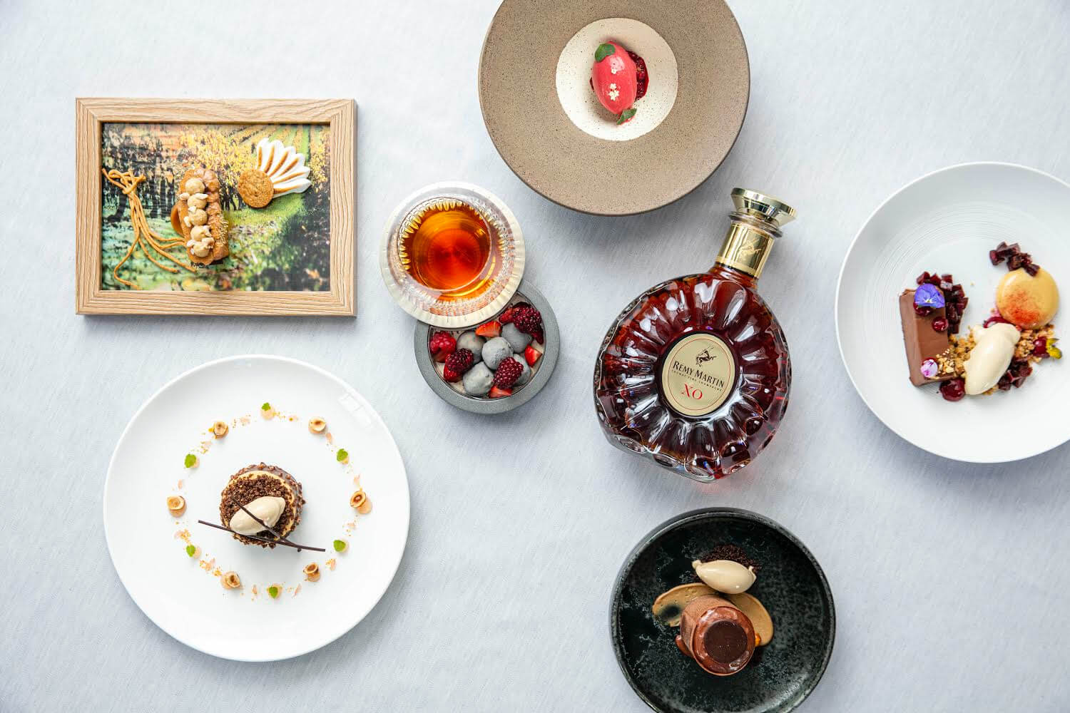 Remy Martin XO Pastry Pairings