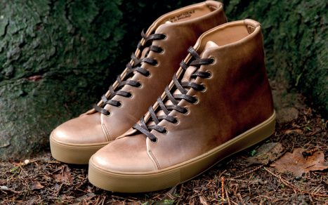 Crown Northampton Debuts Horween Hi Sneaker Collection