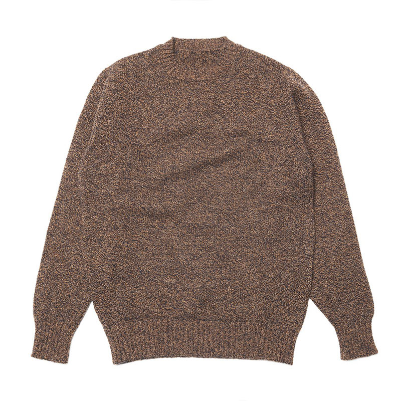 Soft lambswool chunky knit crew neck