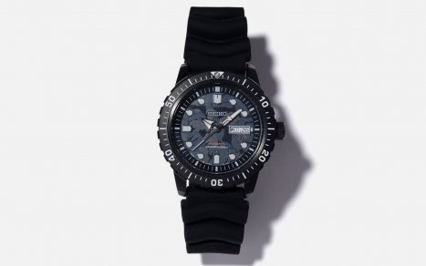 BAPE x Seiko ABC Camo Mechanical Diver Watch