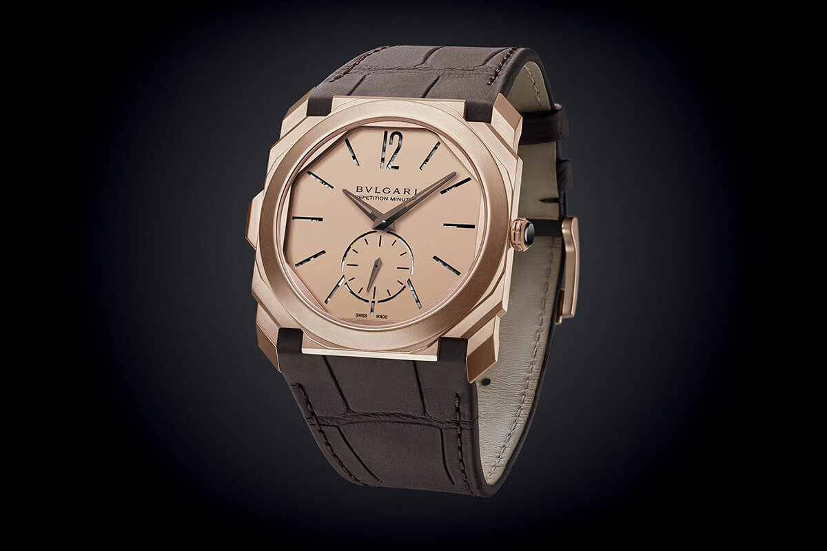 Bulgari Octo Finissimo Minute Repeater Rose Gold Watch