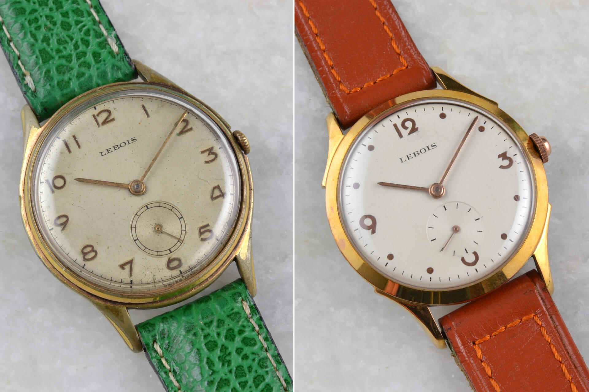 Lebois 1950s & 1960s Classic Small Seconds
