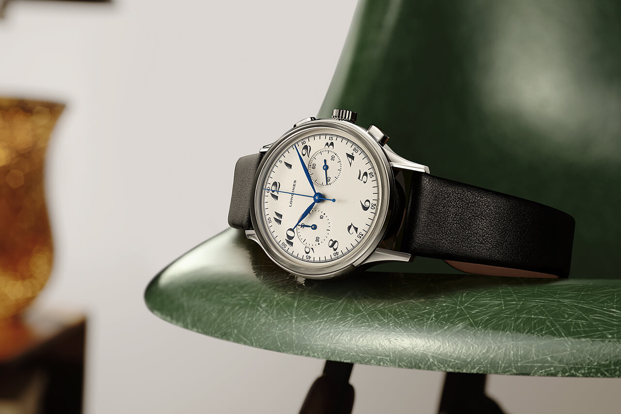 Longines Heritage Classic Chronograph 1946 Watch