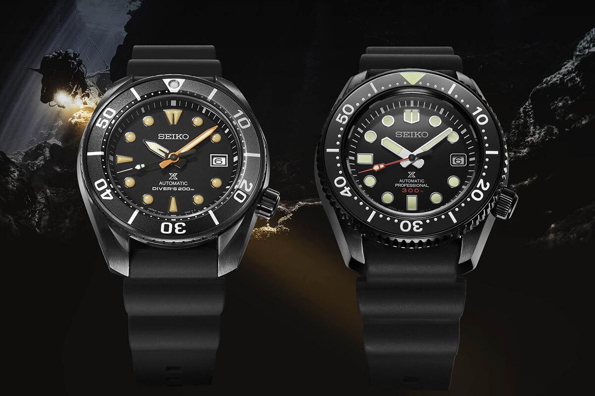 Seiko Prospex Solar Chronograph Black Series SLA035J1 SPB125J1